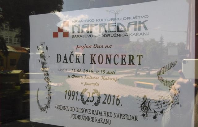 """""""Đački koncert"""" u Domu kulture"""