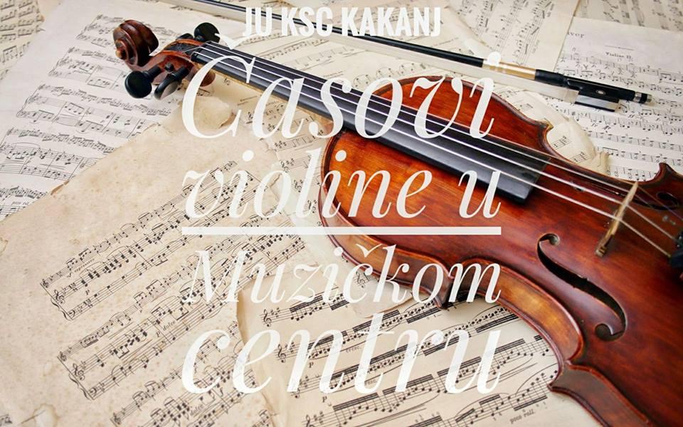 Muzički centar bogatiji za još jedan odsjek – Prijavite se na časove violine