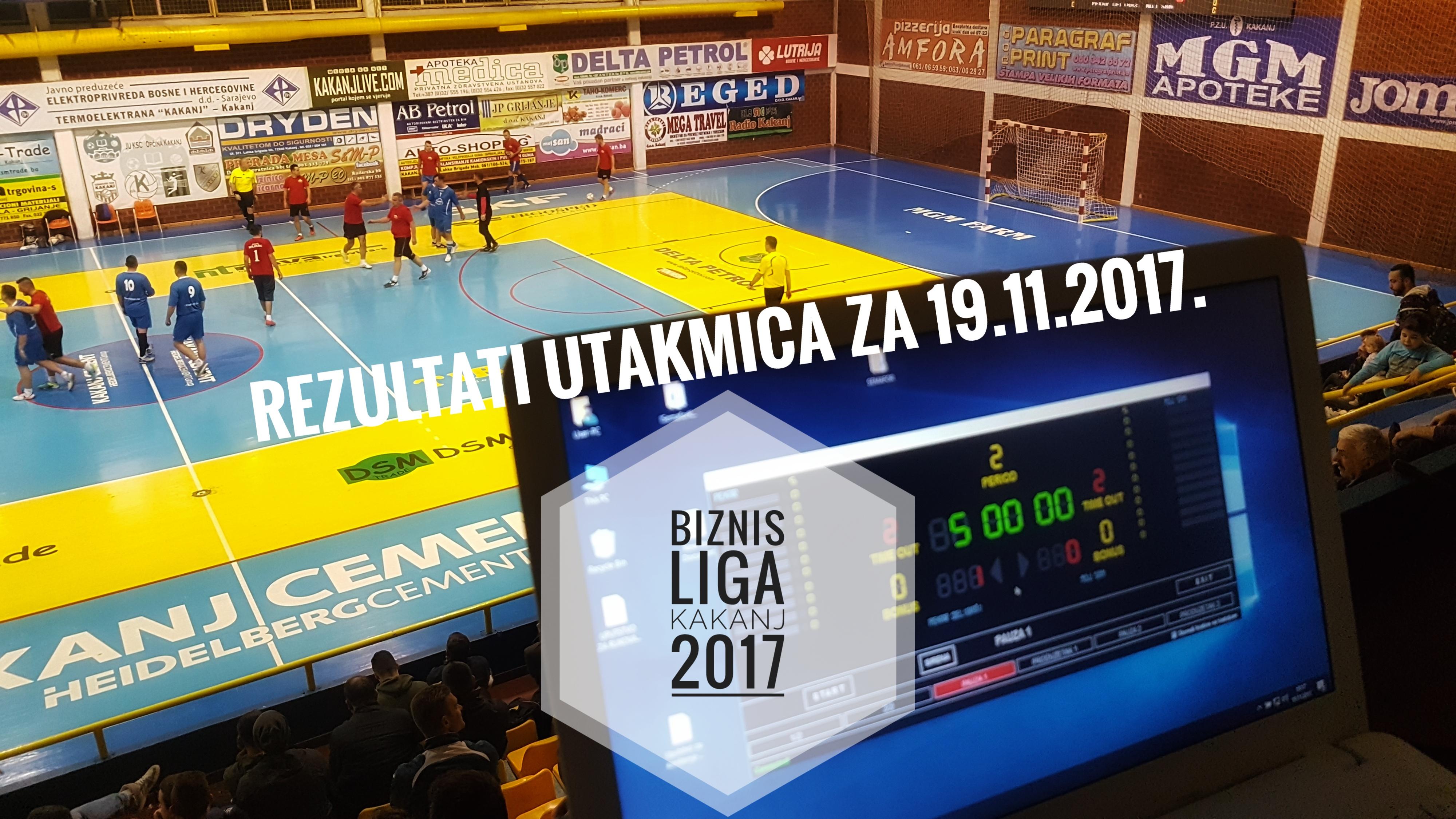 "Biznis liga ""Kakanj 2017"": Večeras se u četvrtfinale plasirale ekipe Elektrodistribucija, Pekar Delibašić, DSM Trade d.o.o i Općina Kakanj"