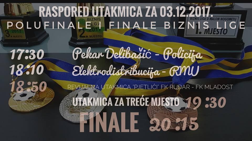 """U nedjelju polufinale i finale takmičenja u malom nogometu Biznis liga """"Kakanj 2017"""""""