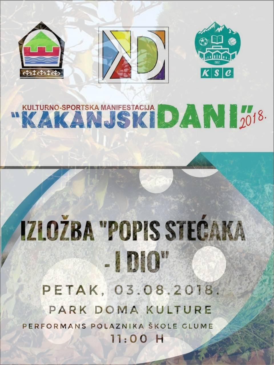 Popisivali smo stećke na području općine Kakanj – želimo vam predstaviti I fazu održanih aktivnosti – MUZEJ KAKNJA