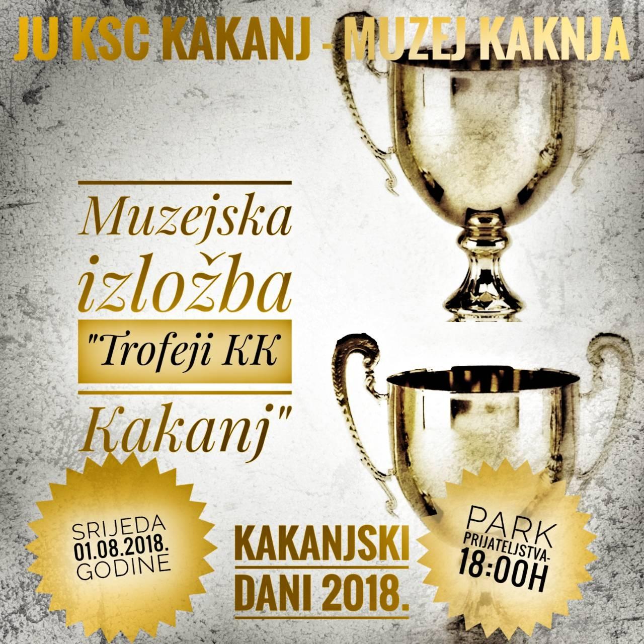 """KD2018: U sklopu street ball cup-a u Parku prijateljstva otvorenje muzejske izložbe """"Trofeji KK Kakanj"""""""