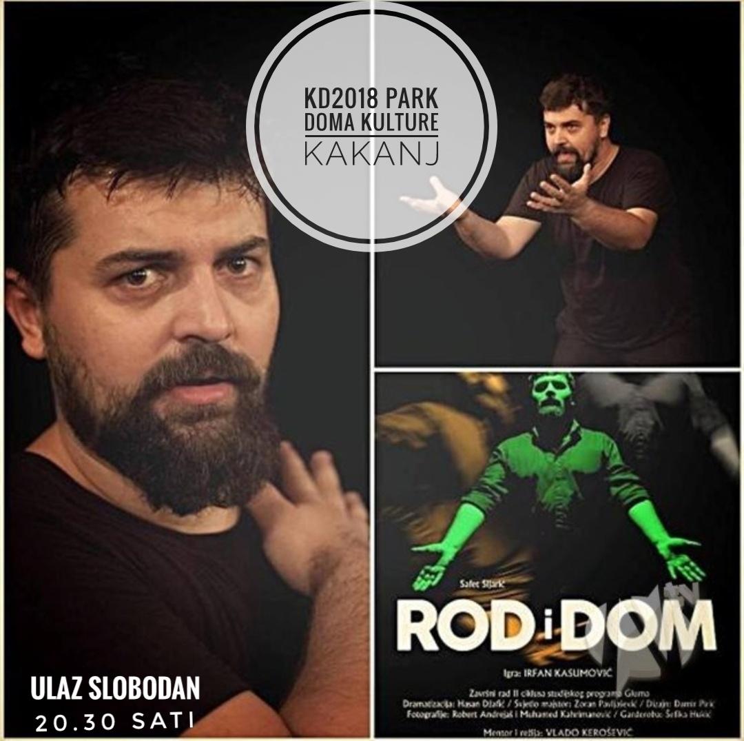 """KD2018: Pozorišna predstava """"Rod i dom"""" na otvorenom u Parku Doma kulture 29.07.2018."""