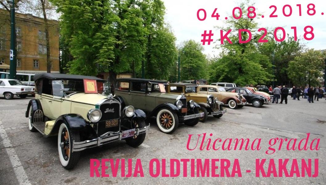 Revija OLDTIMER automobila ulicama grada Kaknja (Kakanjke i Kakanjci biraju najljepšeg) – 04.08.2018. KD2018