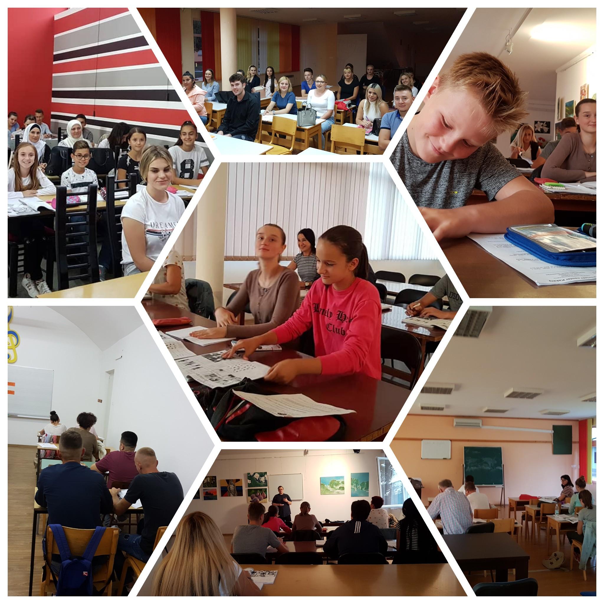 Edukativne kurseve u JU KSC Kakanj pohađa 118 polaznika koji su raspoređeni u sedam grupa
