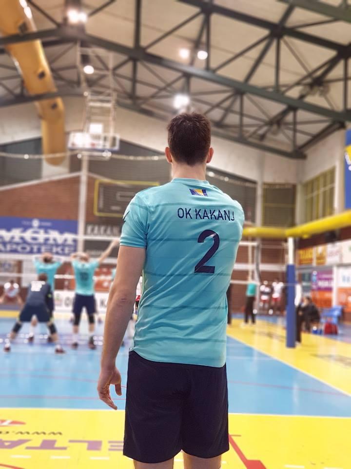 """U petak utakmica između OK """"Kakanj 78"""" i HOK """"Domaljevac"""" u Sportskoj dvorani KSC Kakanj"""