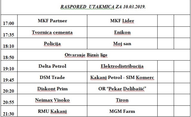 """Danas počinje takmičenje u malom nogometu """"Biznis liga Kakanj 2019"""" – Pogledajte raspored utakmica"""