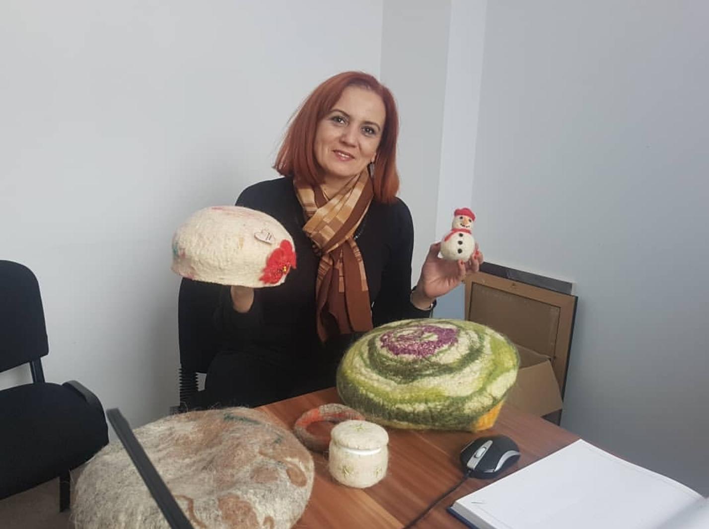 """Danas radionica """"Filcarije-igrarije"""" u sklopu projekta """"Filcanje kao poticaj za promovisanje kulture i tradicije"""""""