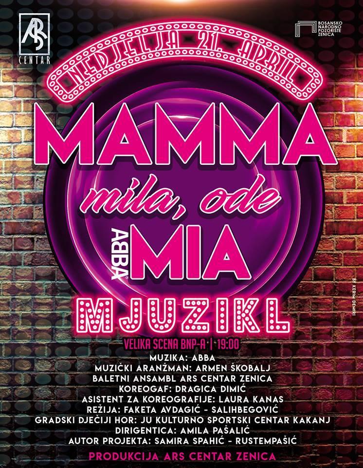 """Gradski dječiji hor učestvuje na mjuziklu """"Mamma mila, ode Mia"""""""