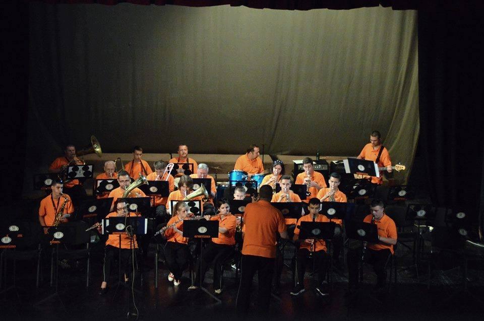 Sutra u Domu kulture Kakanj koncert Rudarske glazbe