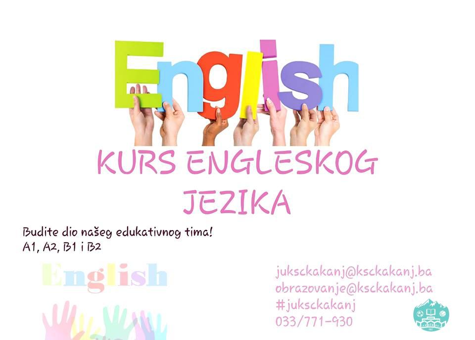 Budite dio našeg edukativnog tima: Prijavite se na kurs engleskog jezika