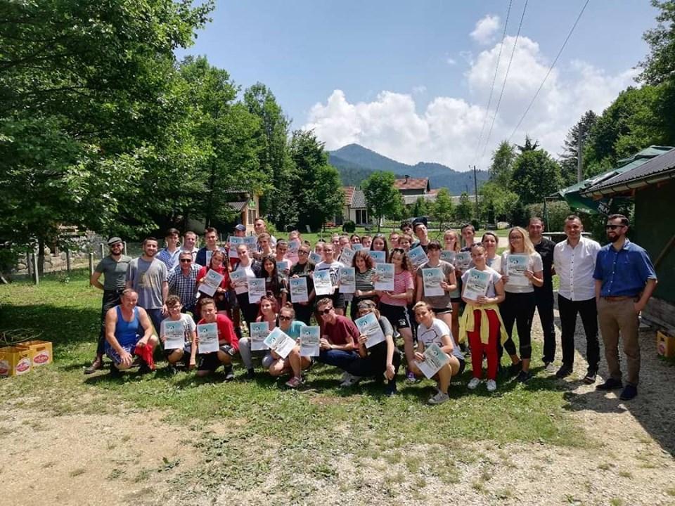 Dodjelom certifikata završen 2. Glumački kamp Kamenica – Zavidovići