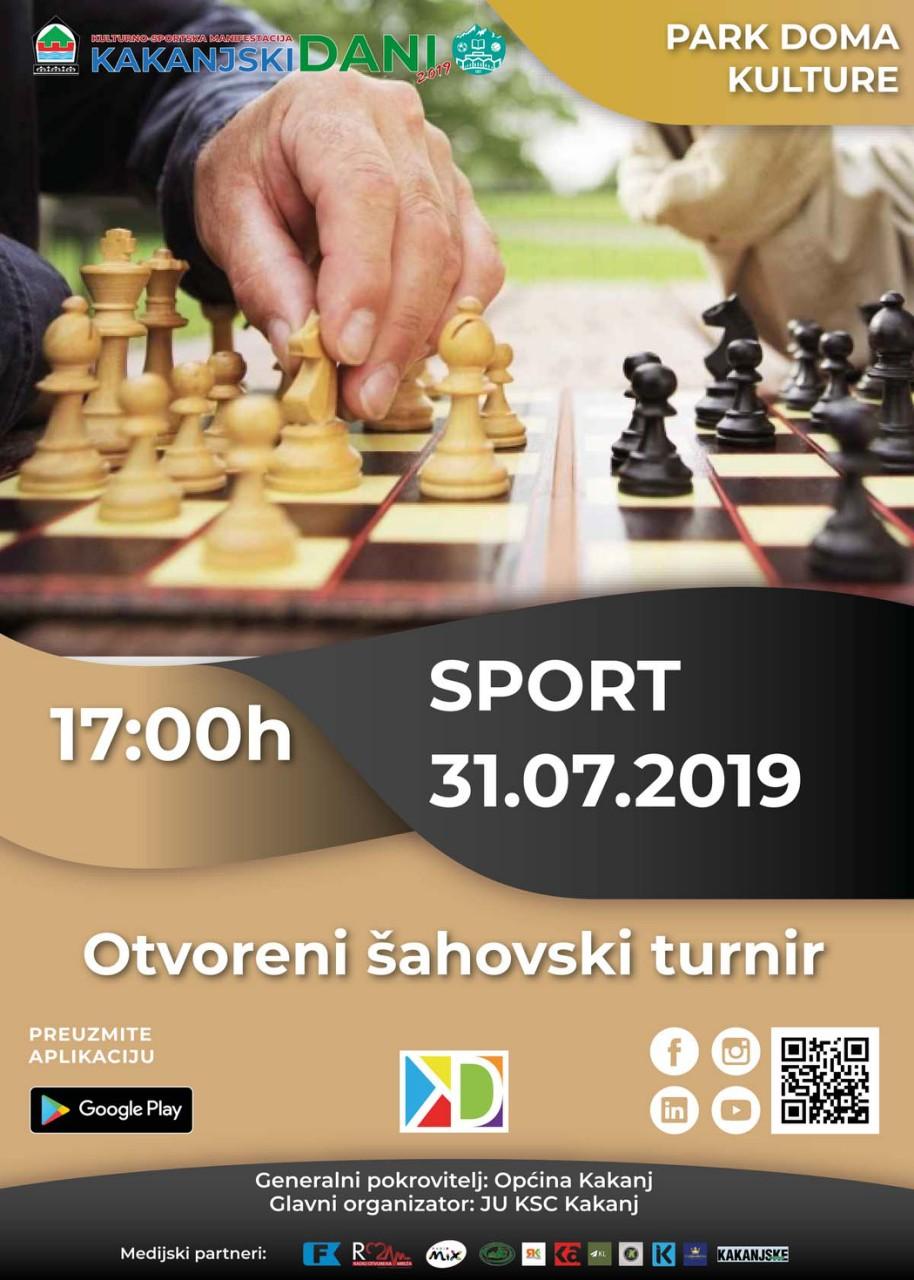Kakanjski dani 2019: Otvoreni šahovski turnir