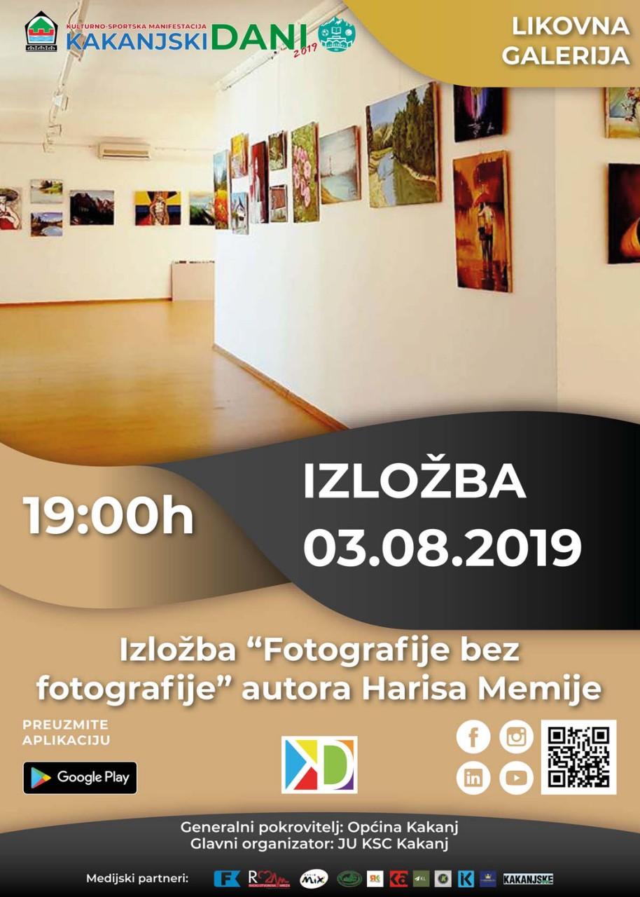 "KD2019: Muzej Kaknja organizuje izložbu ""Miris slike – Izložba fotografija bez fotografija"" autora Harisa Memije"