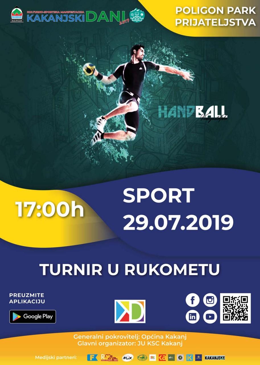 "Kakanjski dani 2019: Turnir u rukometu ""Rukometne nade"""