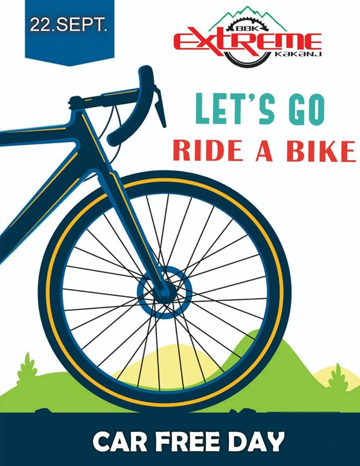 22. septembra rekreativna vožnja biciklima u okviru Evropske sedmice mobilnosti