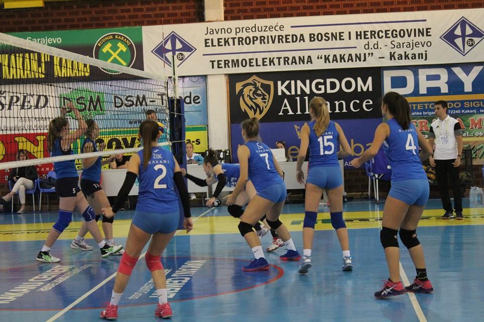 """U subotu utakmica između ŽOK """"Kakanj"""" i OK """"Maglaj"""" u Sportskoj dvorani KSC Kakanj"""