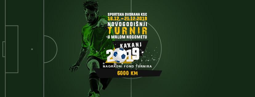 """Novogodišnji turnir u malom nogometu """"Kakanj 2019"""" počinje 16. decembra"""