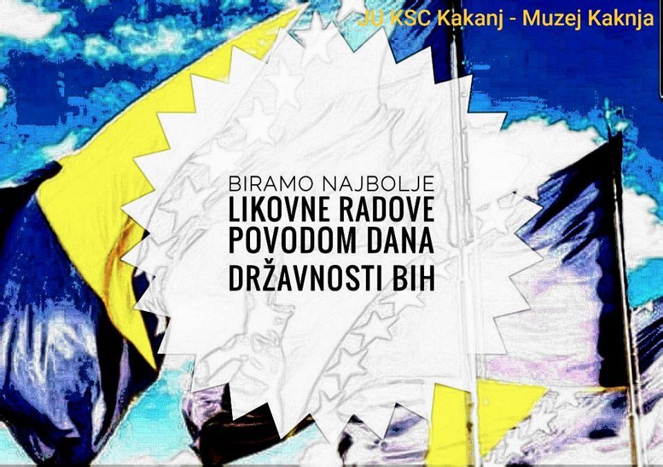 "Javni poziv: Biramo najbolje likovne radove na temu ""Moja domovina Bosna i Hercegovina"""