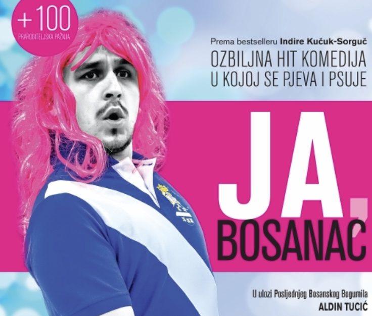 "Najava: Hit komedija ""Ja, Bosanac"" gostuje u Kaknju 6. decembra"