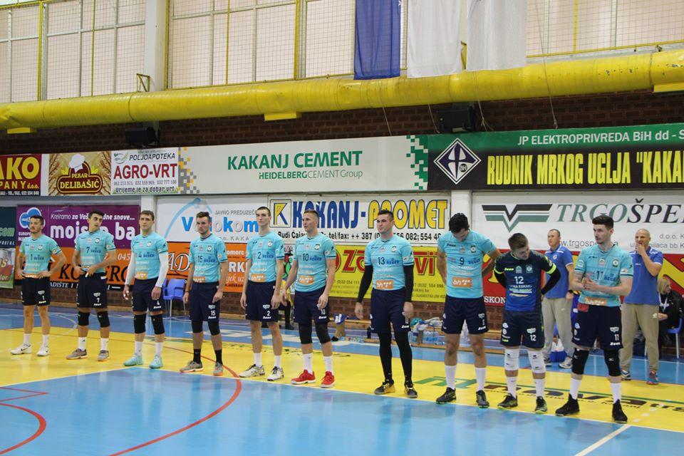 """U subotu utakmica između OK """"Kakanj 78"""" i HOK """"Domaljevac"""" u Sportskoj dvorani KSC"""