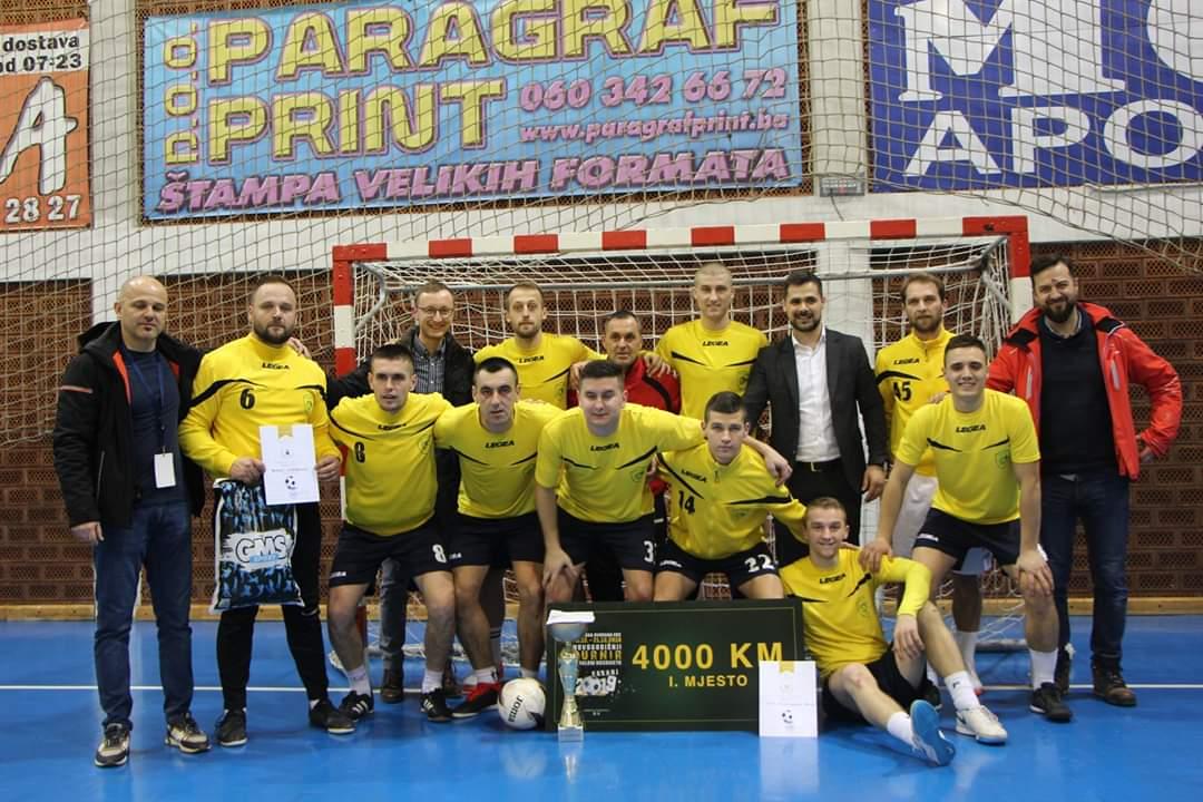 """Ekipa NK Stupčanica Olovo pobijedila na Novogodišnjem turniru u malom nogometu """"Kakanj 2019"""""""