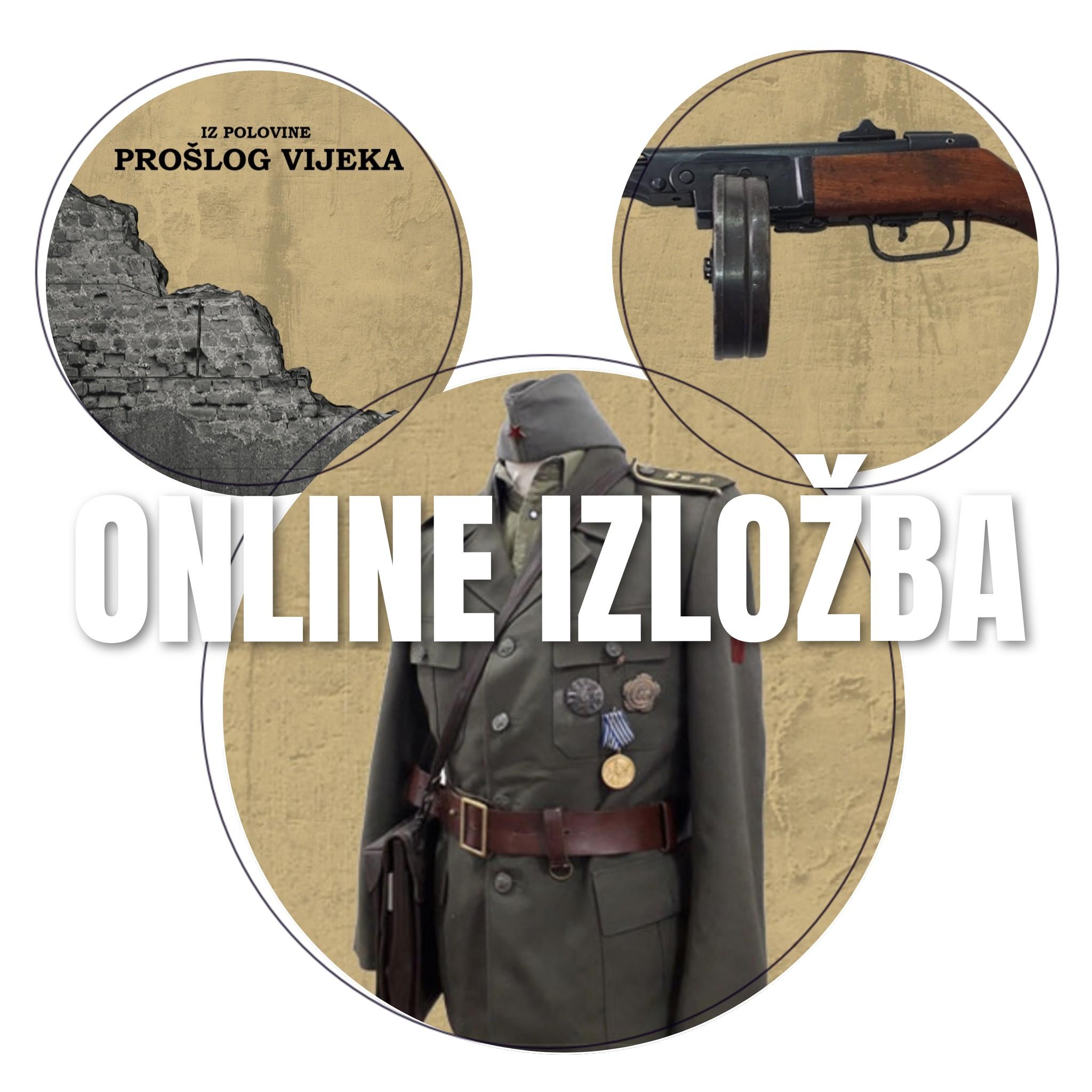 """Muzejska online izložba """"Historijski presjek Kakanj u II svjetskom ratu i historija BiH"""""""