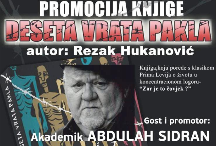 """KD2021: Promocija knjige """"Deseta vrata pakla"""" uz gosta Abdulaha Sidrana"""
