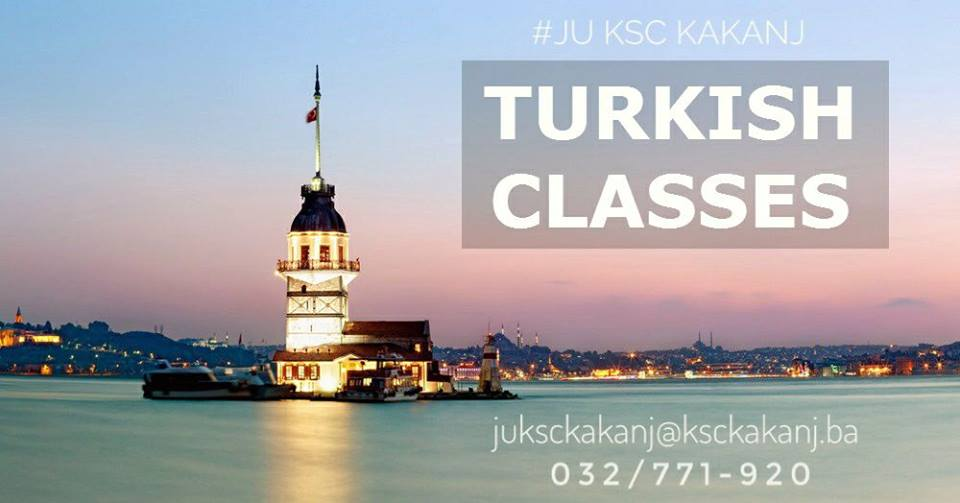 Nauči turski jezik u JU KSC Kakanj – Prijave za kurs u toku