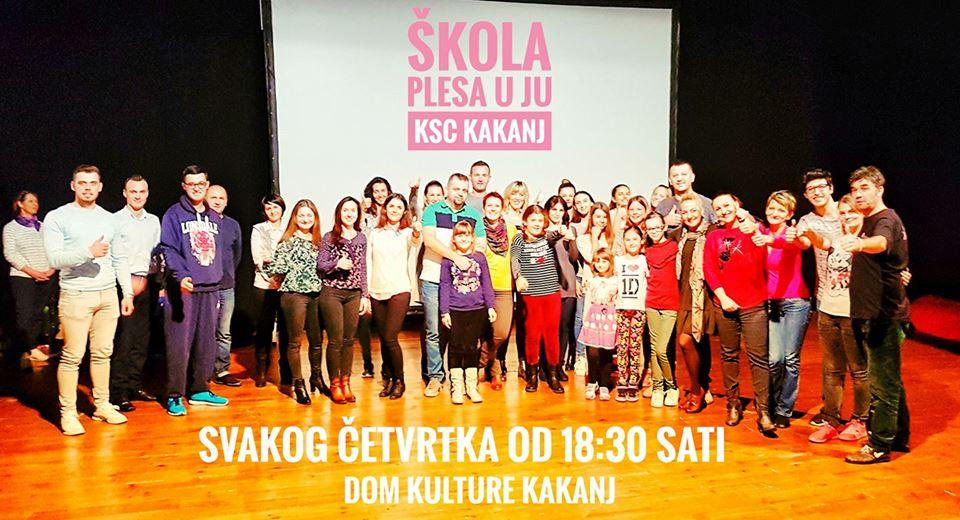Obavijest za polaznike Škole plesa – Trening će se održati u maloj sali JU KSC Kakanj