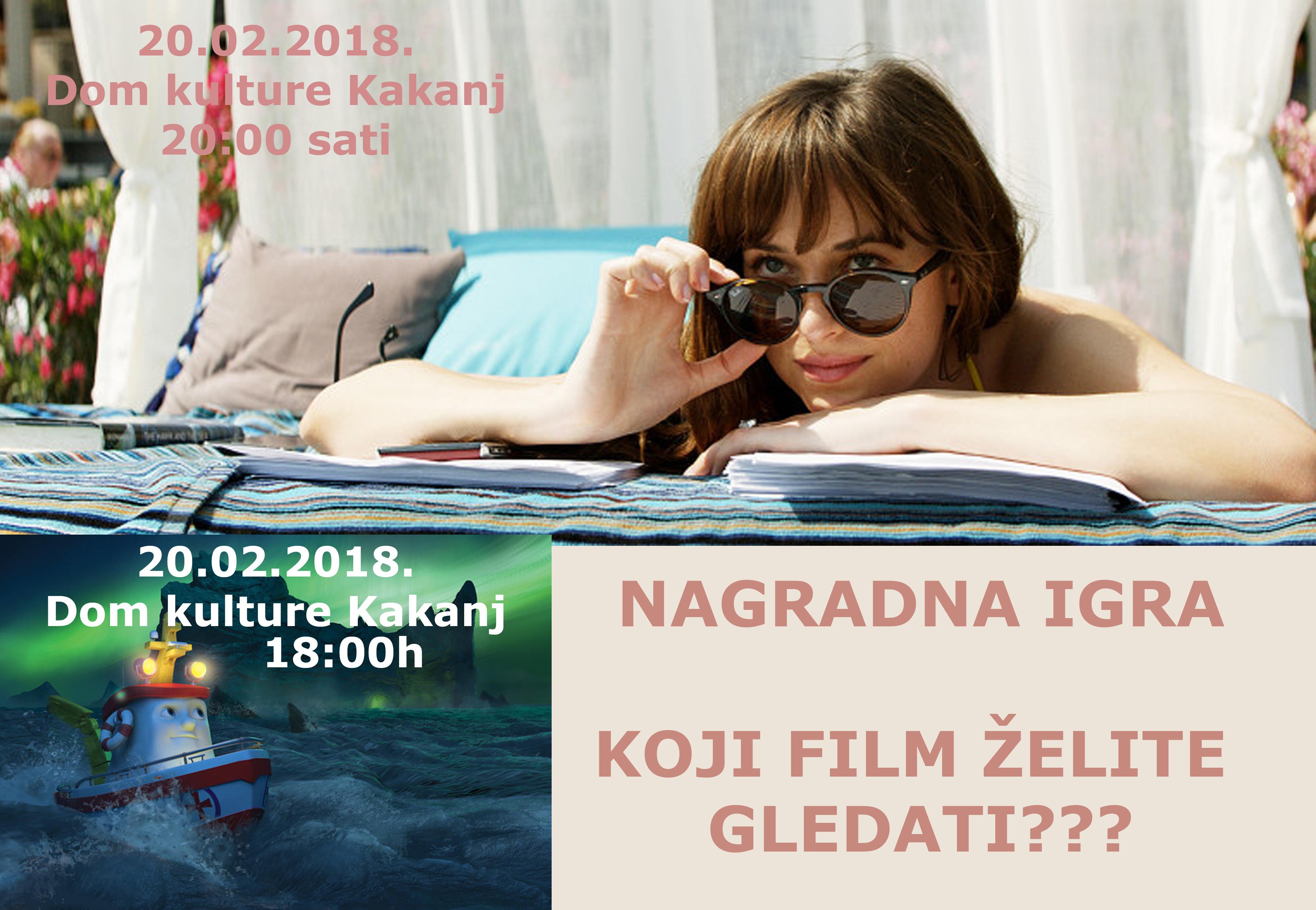 """Nagradna igra: Osvojite ulaznice za filmove """"Mali veseljak: Brod spasilac"""" i """"Pedeset nijasi – Oslobođeni"""""""