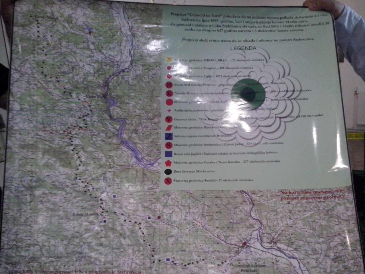 """""""Genocid na karti"""", od danas i u Muzeju Kaknja"""