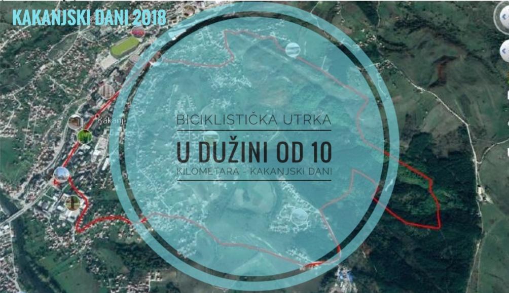 U sklopu KD2018 biciklistička utrka u dužini od 10km (Main stage – Bare – Plandište – Main stage) – PRIJAVE U TOKU