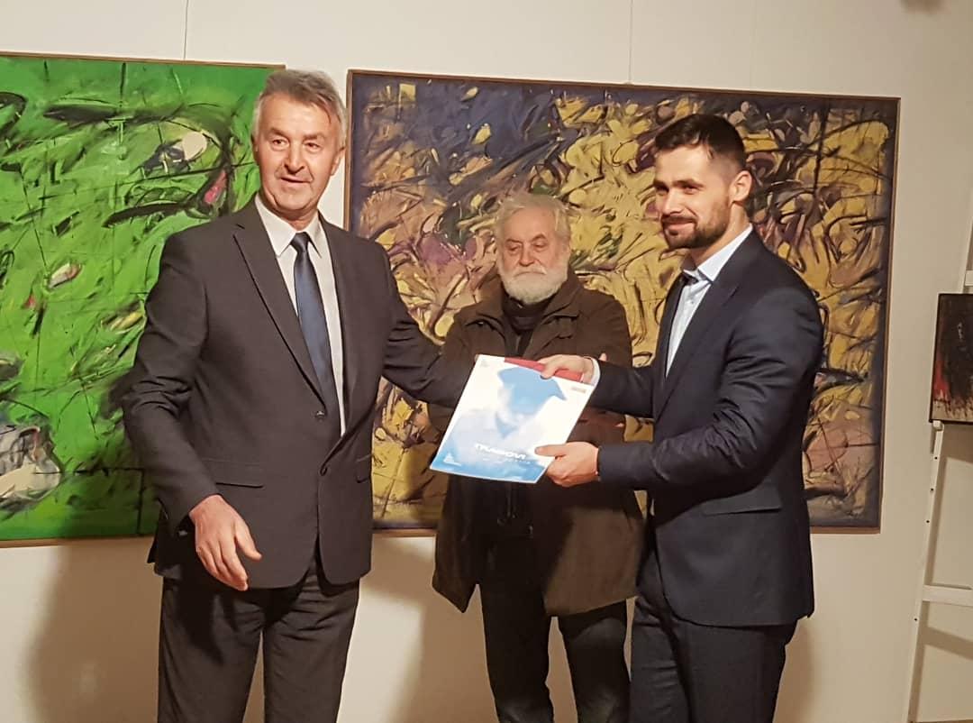 Otvorena izložba Mehmeda Klepe u Gradskoj galeriji likovnih umjetnosti Kakanj