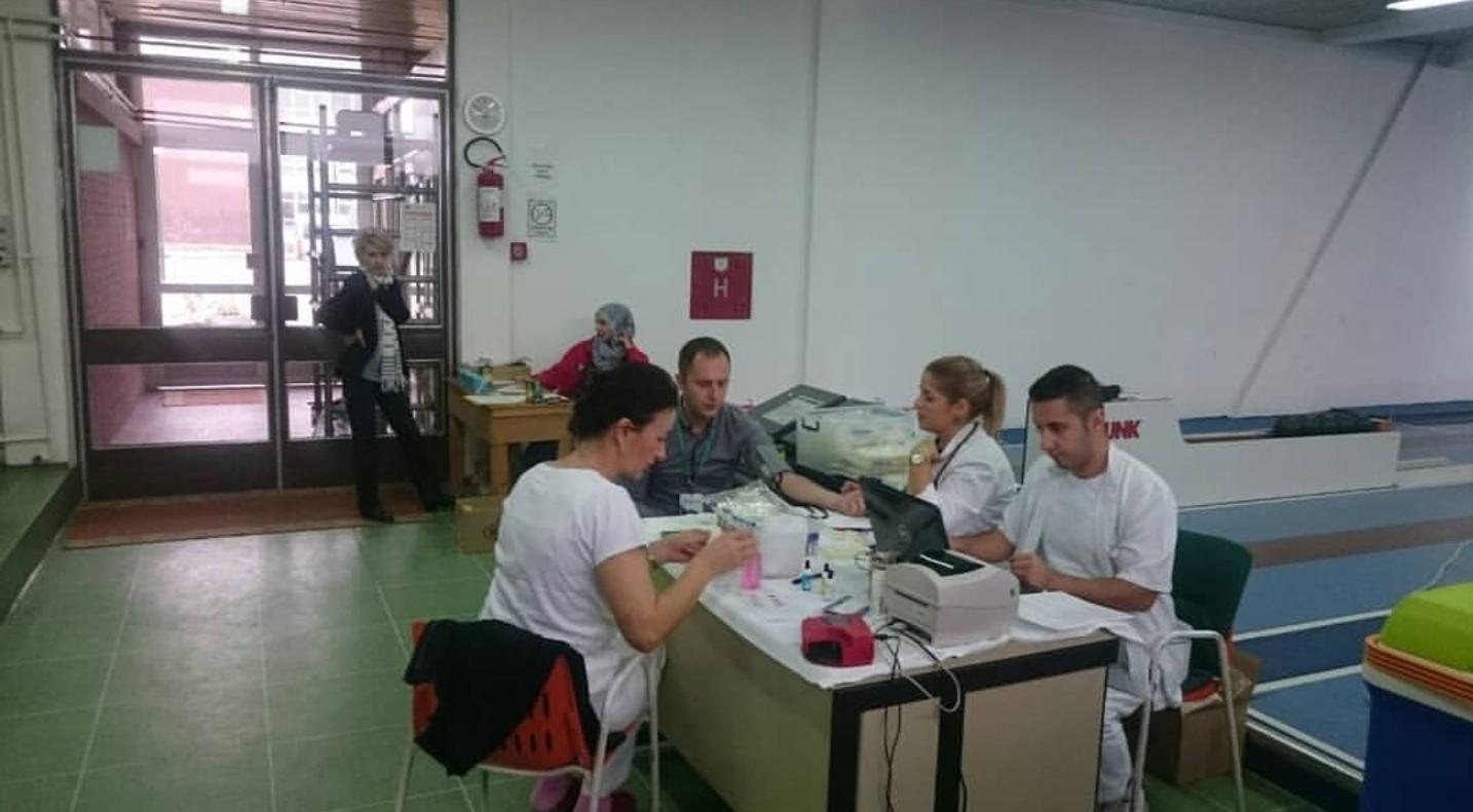 Danas u Kuglani KSC Kakanj akcija dobrovoljnog darivanja krvi