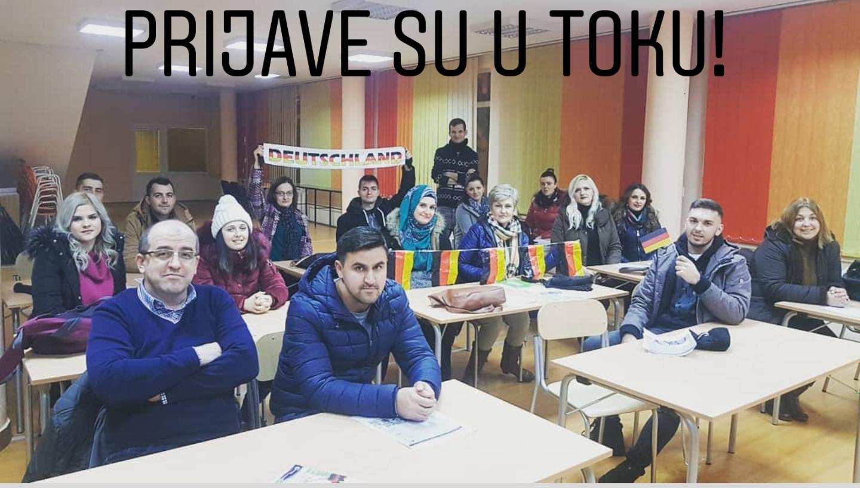 Edukativni kursevi JU KSC Kakanj – I ciklus: Prijave u toku
