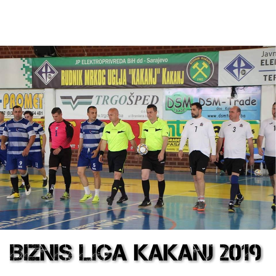 Detaljniji izvještaj sa utakmica takmičenja Biznis liga – 21.04.2019.