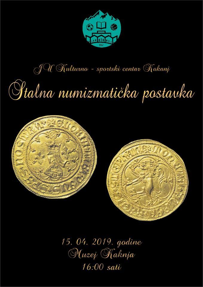 Stalna numizmatička postavka: Svečano otvaranje 15. aprila u Muzeju Kaknja
