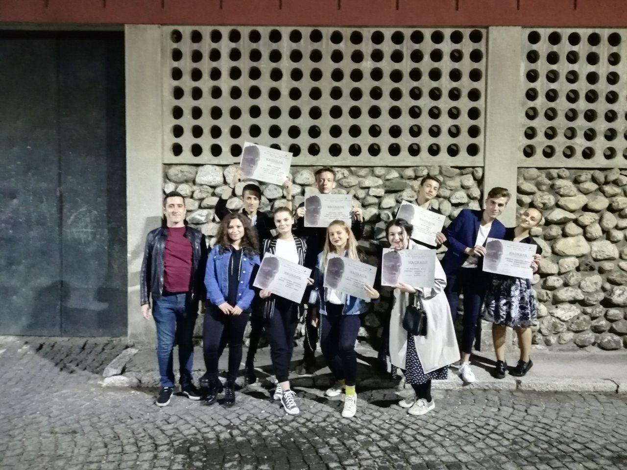 Završen 17. Festival srednjoškolskog dramskog stvaralaštva u Konjicu – Za Kakanj 7 nagrada