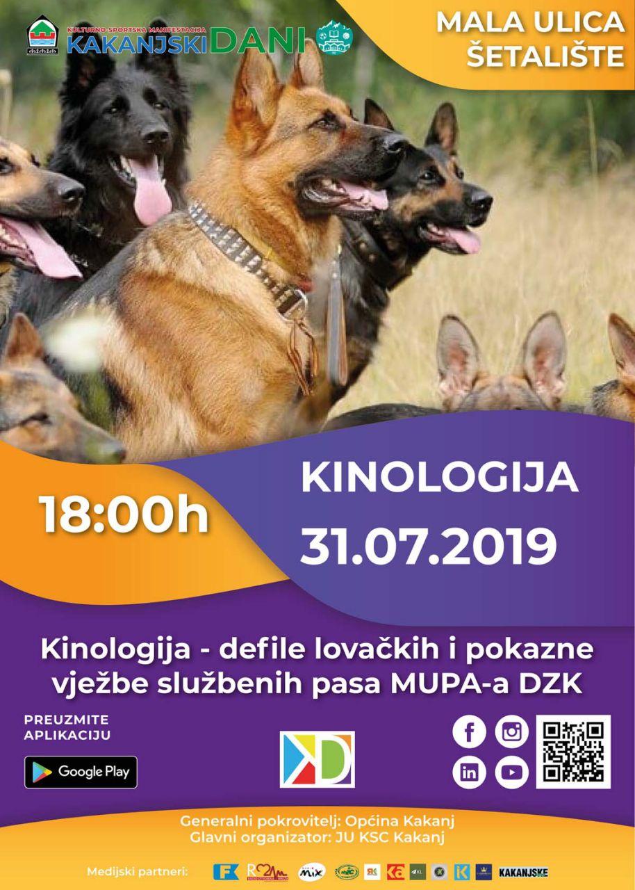 KD2019: Defile lovačkih i vlasničkih pasa i pokazna vježba službenih pasa MUP-a