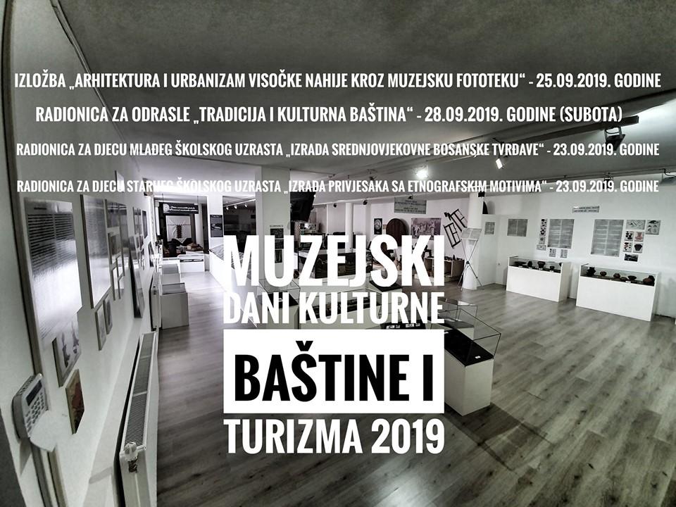 Muzejski dani kulturne baštine i turizma 2019.