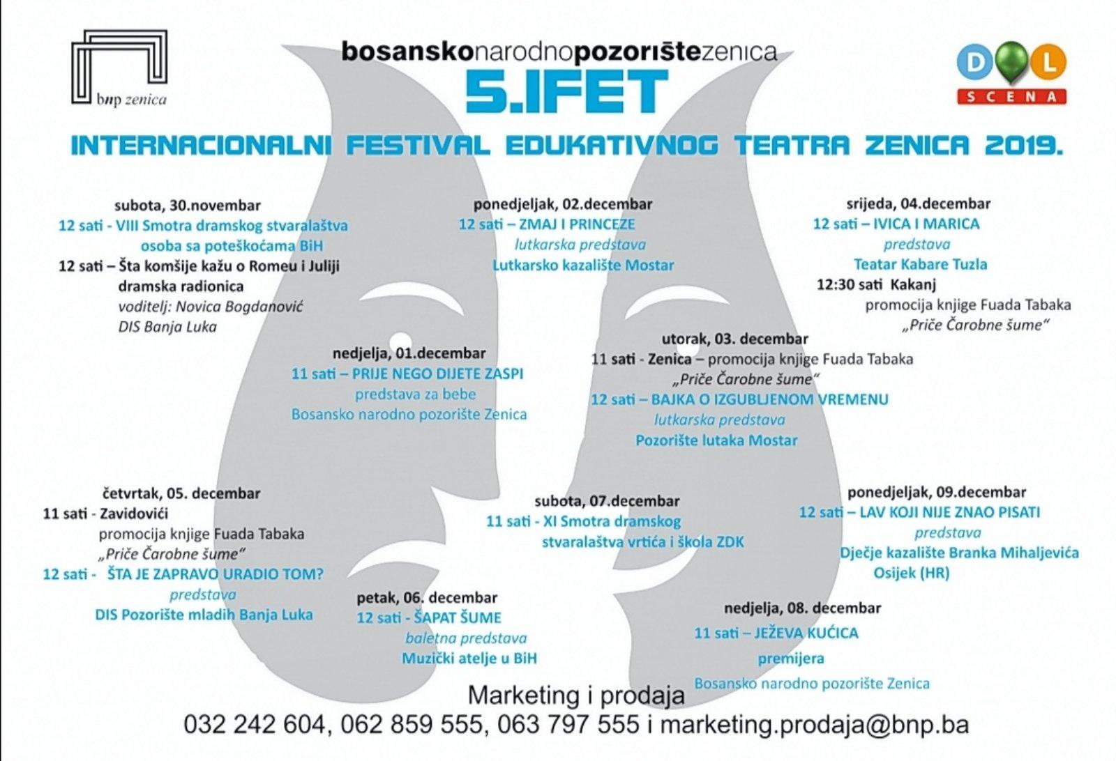 """IFET: Sutra promocija knjige """"Priče iz čarobne šume"""" u maloj sali KSC"""