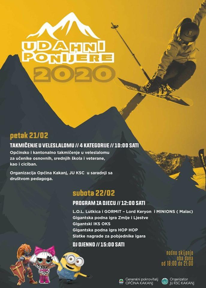 """Zimska manifestacija """"Udahni Ponijere 2020"""" počinje u petak 21. februara"""