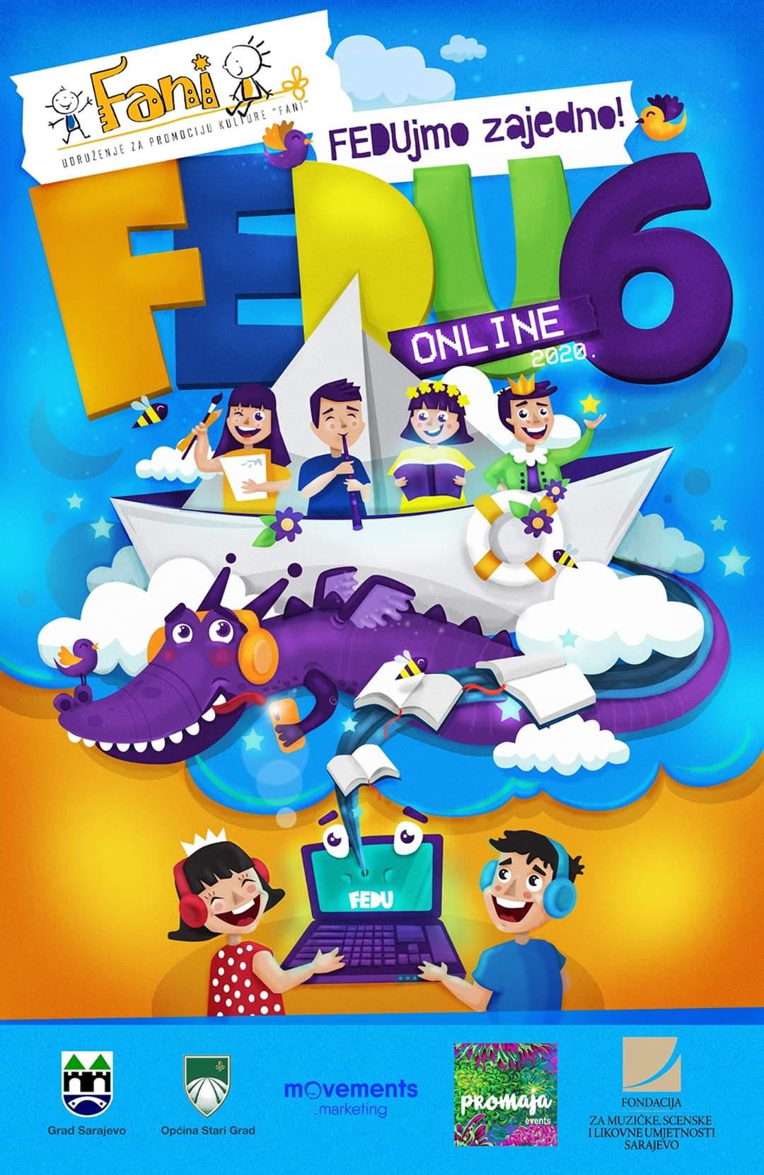 JU KSC Kakanj je ponovo dio Festivala dječije umjetnosti: Najbolja online pozorišna ostvarenja