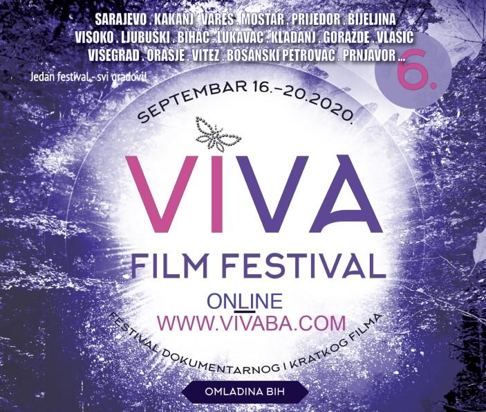 6. VIVA FILM FESTIVAL ONLINE OD 16. DO 20. SEPTEMBRA