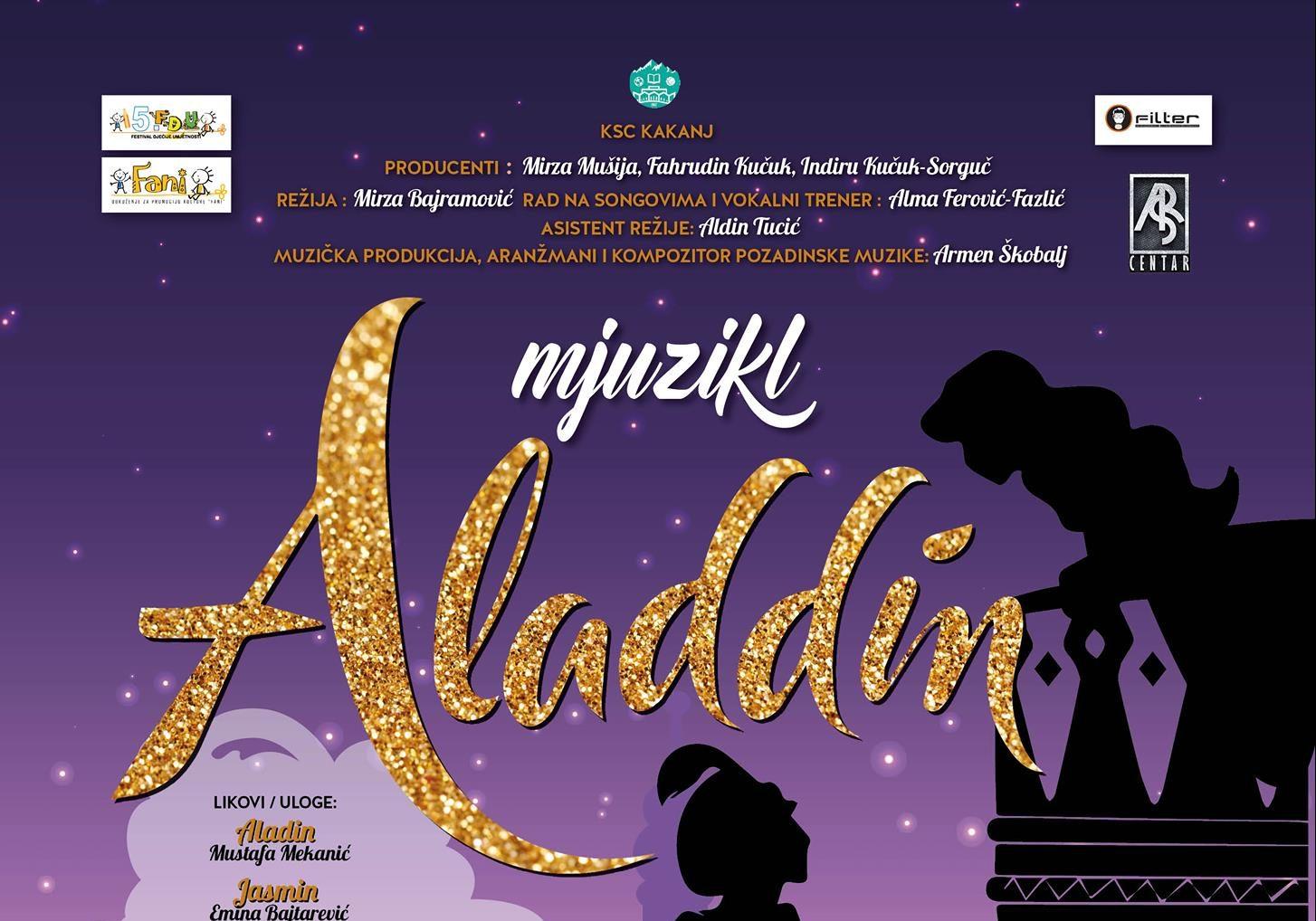 """Konferencija za medije povodom premijere mjuzikla """"Aladdin"""""""